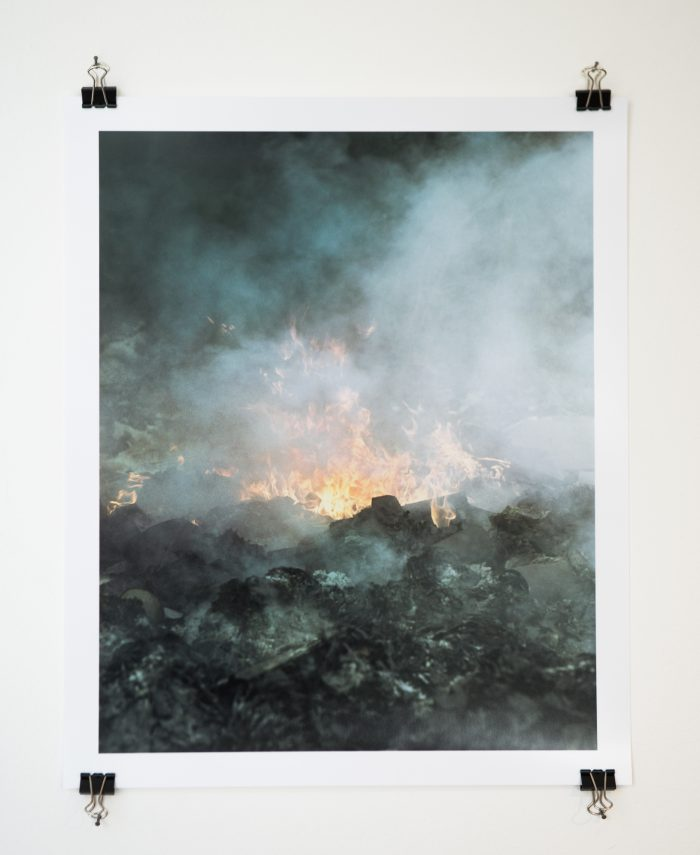 flaming landfill print1