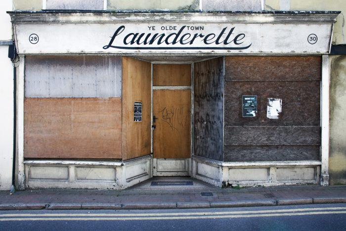 Ye Olde Town Launderette, King Street, Margate, 2011 by Hannah Blackmore