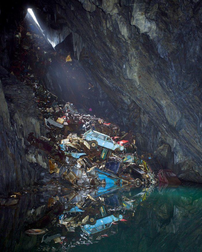Gwaern Slate Mine, 2014