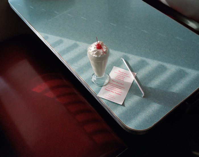"""""""A vanilla shake and the check please"""", Chicago"""