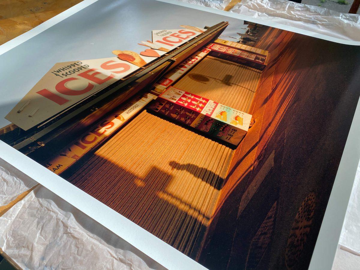 Max Miechowski - Shadows Ices Moon Print