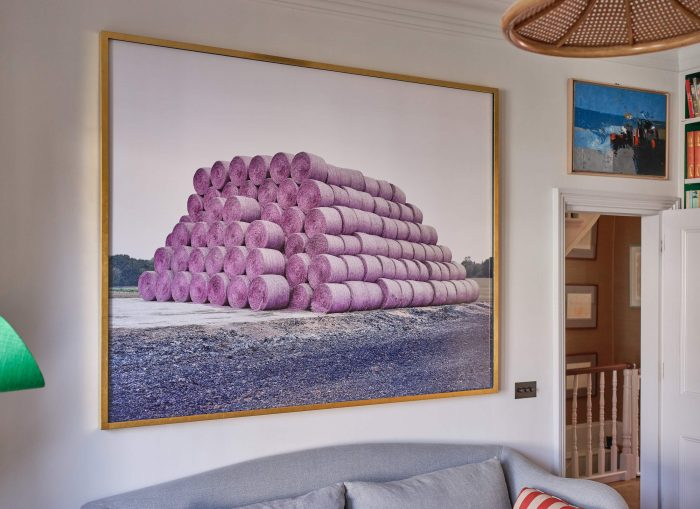 Hay Bales by Robin Friend